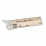 New York Times Newspaper In Bag (Grey)