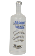 Bouteille de vodka Absolut (Transparent)