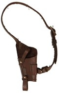 Worn Chest Holster (Brown)