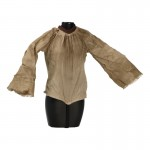 Female Teenager Size Worn Shirt (Beige)