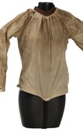 Female Teenager Size Worn Shirt (Beige)