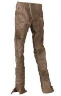 Female Teenager Size Worn Pants (Beige)