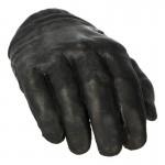 Main droite gantée (Noir)