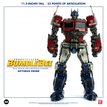 Transformers : Bumblebee - Optimus Prime (DLX Scale Collectible)