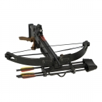Crossbow with Arrows and Quiver (Black)
