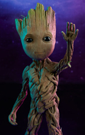 Guardians Of The Galaxy Vol. 2 - Baby Groot Life-Size Maquette