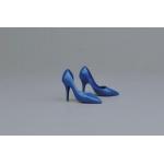 Female Heeled Shoes (Blue)