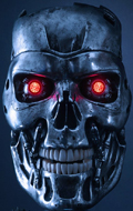 Terminator 2 : Judgment Day - T-800 Endoskeleton Art Mask Props Replica