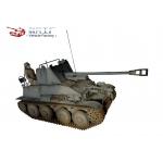 WWII German Tank Destroyers - Diecast Marder III Sd.Kfz. 139 (Grey)