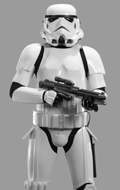Star Wars - 1/3 Original Stormtrooper Statue