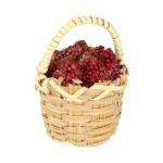 Panier de raisin (Rouge)