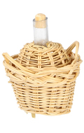 Basket with carafe (Beige)