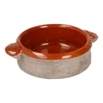 Cocotte en terre cuite (Marron)