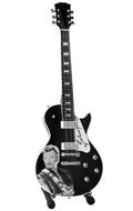 Guitare Johnny Hallyday (Noir)