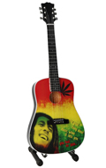 Guitare Bob Marley Tribute One Love (Vert)