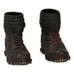 Gebirgsjager Mountain Boots with Putties (Brown)