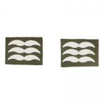 Luftwaffe Feldwebel Chevrons (Olive Drab)