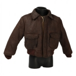 Leather A2 Jacket (Brown)
