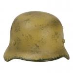Diecast Worn M35 Lufwaffe Helmet (Sand)