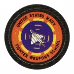 Patch United States Navy Fighter Weapons School (Orange)