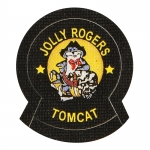 Patch Jolly Rogers Tomcat (Noir)