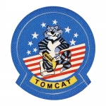 Patch Tomcat (Bleu)