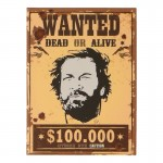 Wanted Poster (Beige)