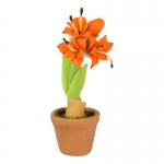 Amaryllis Flower (Orange)