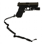 Glock 17 Pistol with Surefire and Sling (Black)
