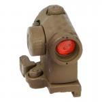 Viseur point rouge Aimpoint T1 avec cache (Peau de serpent)