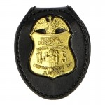 Insigne de Police Federal Bureau Of Investigation (Or)