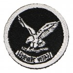 Patch Hostage Rescue Team (Noir)