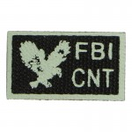 Patch FBI CNT (Kaki)