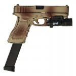 Pistolet Glock 17 avec surefire X300 (Camouflage 2 tons)
