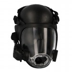 Gas Mask with Speaker Device (Black)