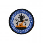 Patch U.S.S. Nathan James DDG-151 The Spear Of The Navy (Bleu)