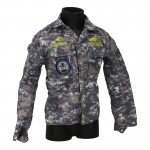 Veste US Navy NWU imperméable (Digital Blue)