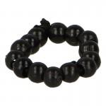 Bracelet de perles (Noir)