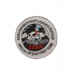 Patch Drug Enforcement Administration Special Operations Team (Blanc)