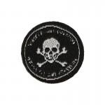 Russian Spetsnaz FSB Skull Patch (Black)