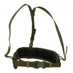 Molle Equipment Belt with Harness (Olive Drab)