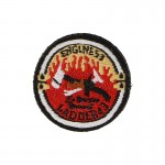 Patch FDNY Engine 53 / Ladder 43 El Barrios Bravest (Rouge)