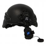 Mich Helmet with AN/PVS-14 NVG (Black)