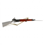 Diecast Wooden MAS 36 CR 39 Rifle (Silver)