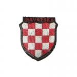Insigne Hrvatska (Rouge)