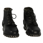 Leather Berschuhe Mountain Boots (Black)