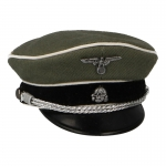 Elite Officer Schirmmütze Visor Cap (Feldgrau)