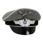 Luftwaffe Peaked Cap (Grey)