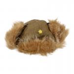 Bonnet Armée Impériale en fourrure (Olive Drab)