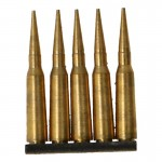 Clip cartouches Type 38 en métal (Or)
